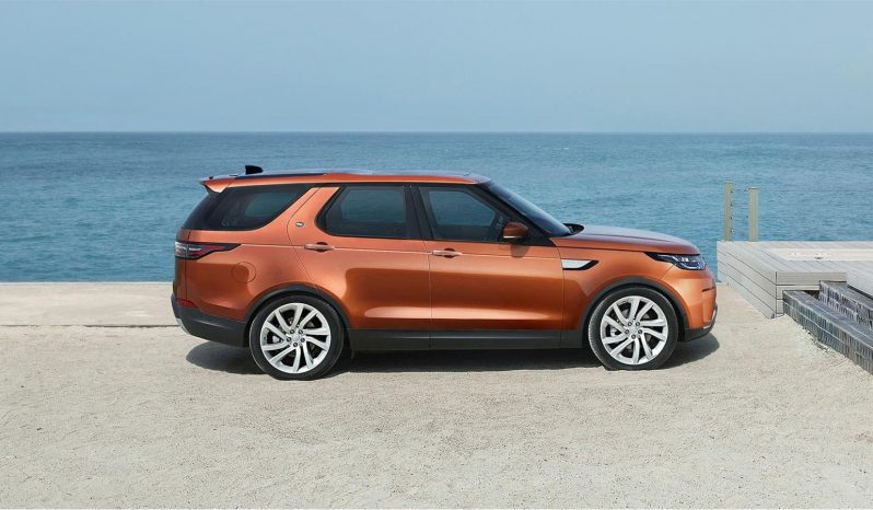Land Rover Discovery lleno
